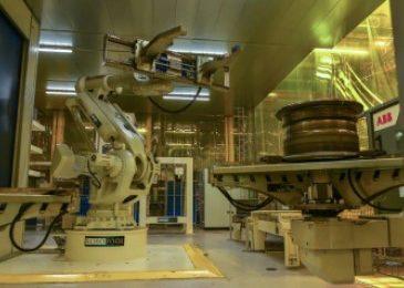GKN Wheels, robotic weld cell, moveero